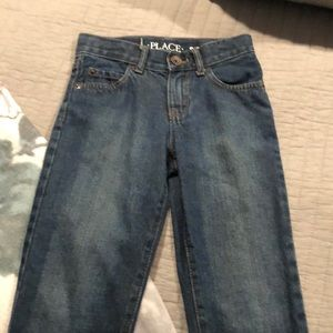 Boys nwot children's place straight leg blue jeans